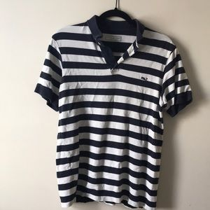 Blue Striped Vineyard Vines Polo Top Size small